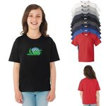 Custom T Shirt Design FOTL Youth HD Cotton 100% Cotton T Shirt. -