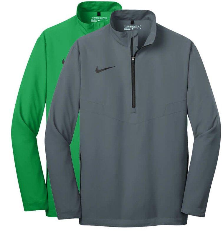 Main Product Image for Custom T Shirt Design Nike Golf 1/2-Zip Wind Shirt - Embroidered