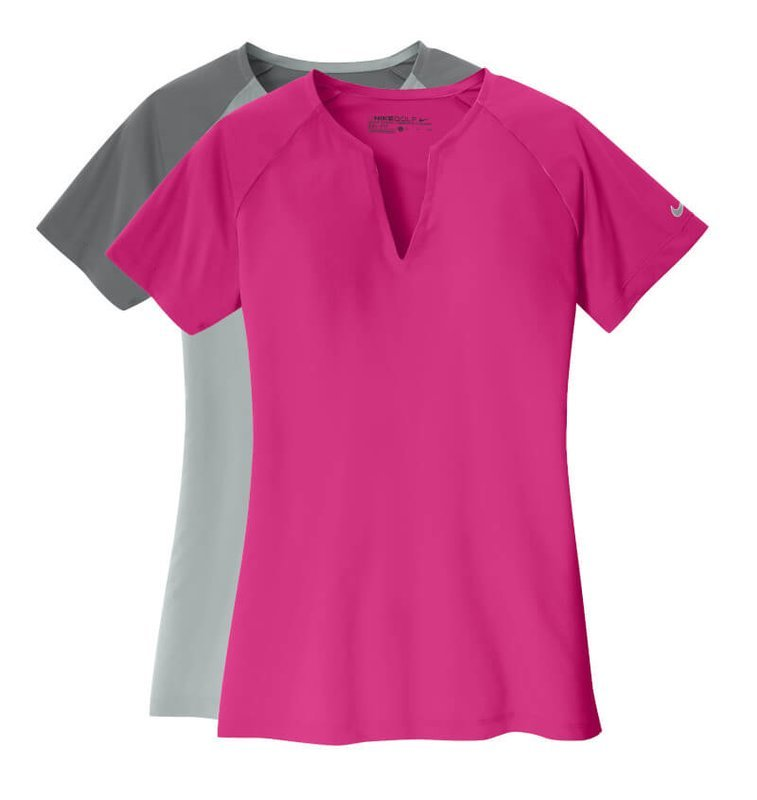 ee5c83754 Design. Main Product Image for Nike Ladies Dri-FIT Stretch Woven V-Neck